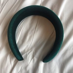Green Foam Headband